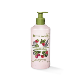 Dưỡng thể YVES ROCHER ENERGIZING BODY LOTION RASPBERRY PEPERMINT 390 ML