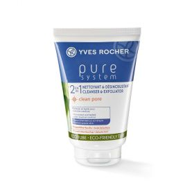 Sữa rửa mặt YVES ROCHER DAILY EXFOLIATING CLEANSER 125 ml