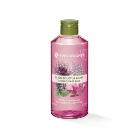 Gel tắm YVES ROCHER LOTUS FLOWER SAGE SHOWER GEL 400ML