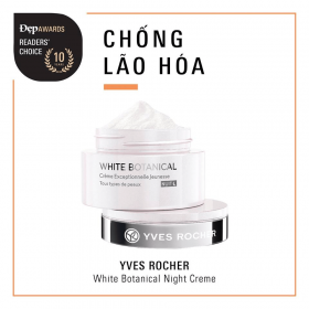 Kem dưỡng ban đêm YVES ROCHER EXCEPTIONAL YOUTH CREAM NIGHT ALL SKIN TYPES 50ML